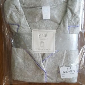 Adonna 2pc pajamas Medium NWT